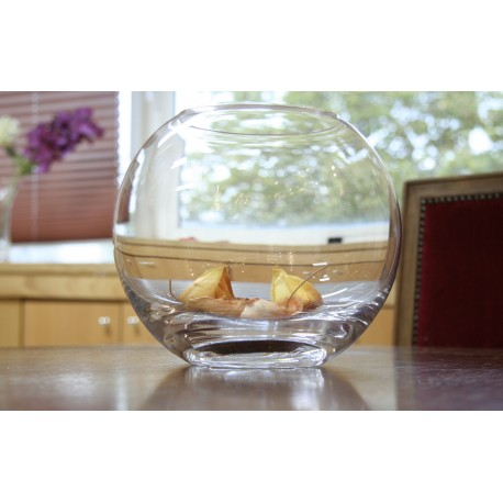 Florero de cristal de Bohemia 24 cm