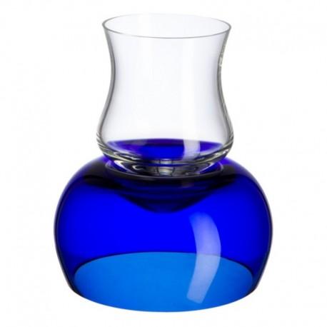 Juego de licor azul 6 piezas Bohemia