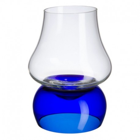 Juego de coñac azul Bohemia