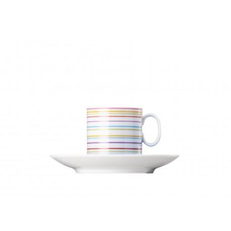 Plato y taza café espresso Medaillon Rio de Janeiro Rosenthal