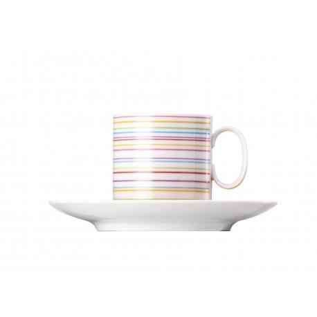 Plato y taza de café grande Medaillon Rio de Janeiro Rosenthal
