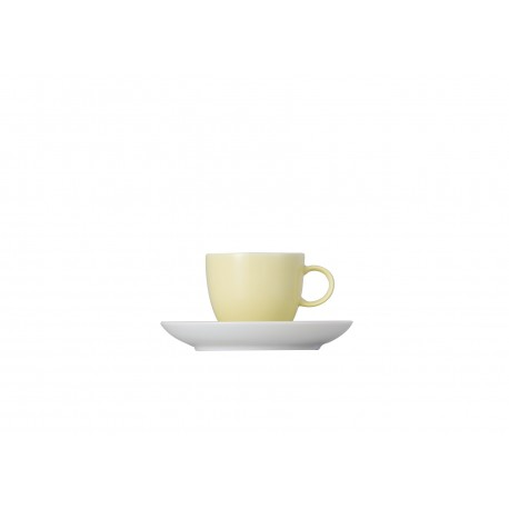 Taza de café espreso Sunny Day Pastel yellow