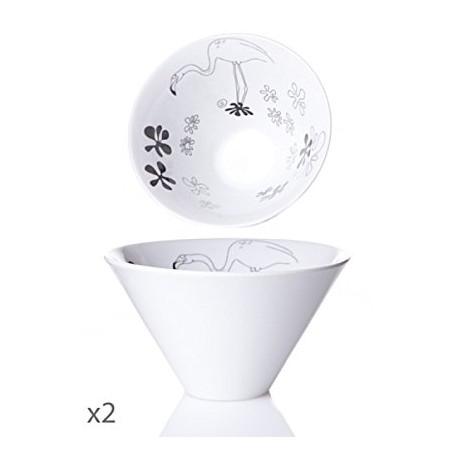 Juego de 2 Bowls Animaux Toujours-Cristal de Sèvres