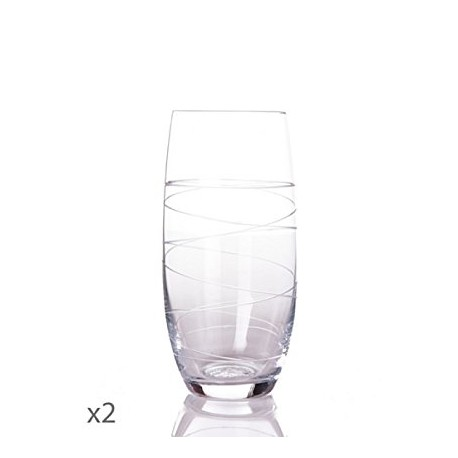 Juego de 2 vasos altos Bruyere Toujours-Cristal de Sèvres