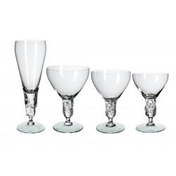 Cristalería de 48 piezas Clivia Bohemia