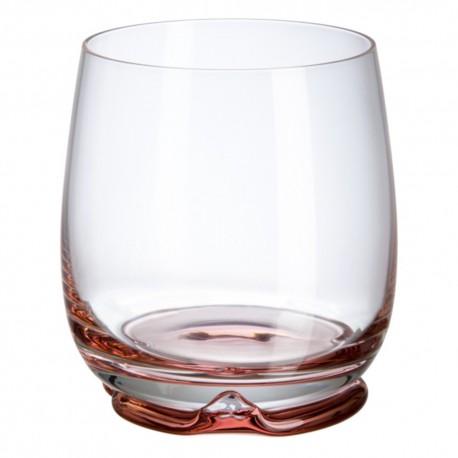 Vaso bajo Bohemia Irene Rosa 320 ml