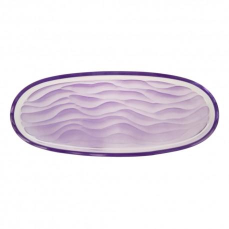 Centro de mesa oval Caribean Violet Bohemia