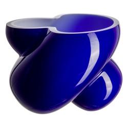 Florero Energy Azul Cristal de Bohemia