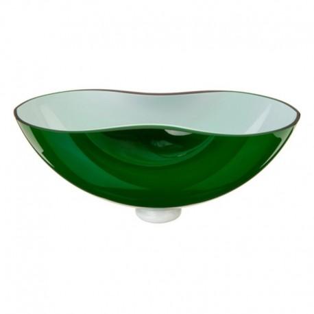 Bowl Energy verde Cristal de Bohemia