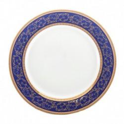 Plato llano Saphyr azul Thun Bohemia