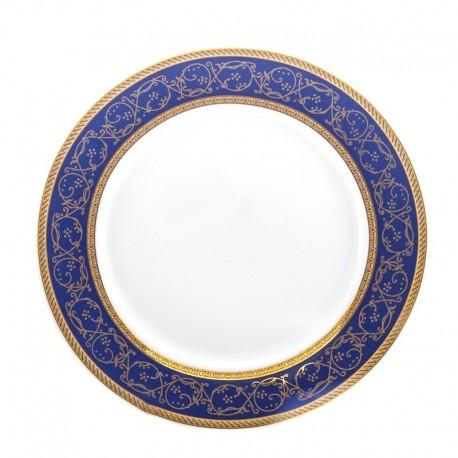 Plato postre Saphyr azul Thun Bohemia