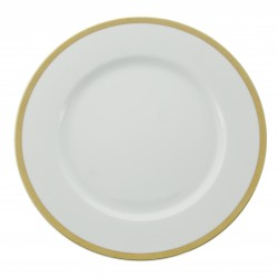 Bajoplato con filo dorado Saphyr 2620100