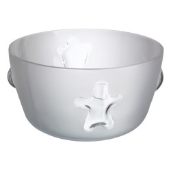 Bowl Cosmos Blanco mate 30 cm Bohemia