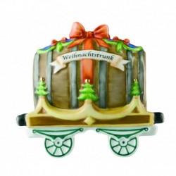 Vagón de tren Weihnachtstrunkanhänger Hutschenreuther