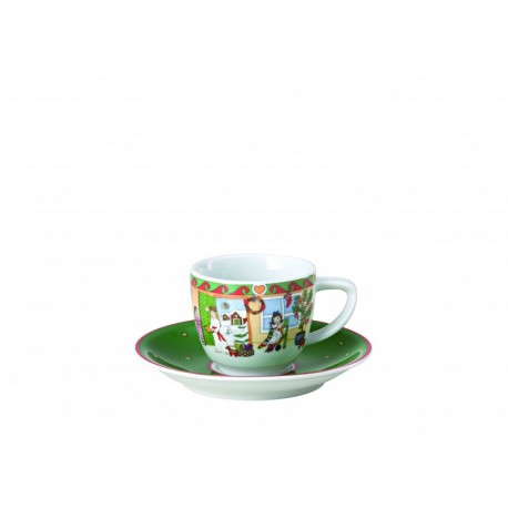 Taza de café con plato Sammelkollektion Hutschenreuther