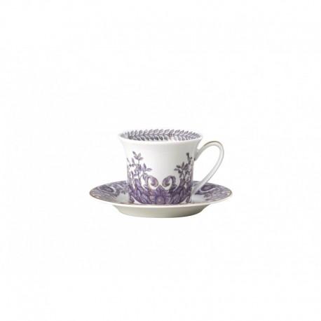 Taza de café con plato Le Grand Divertissement Versace