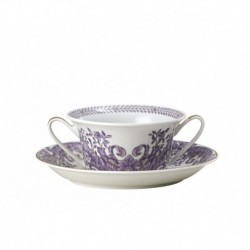 Taza de consomé con plato Le Grand Divertissement Versace