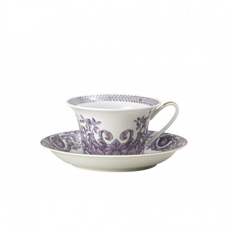 Taza de té con plato Le Grand Divertissement Versace