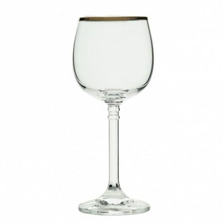 Copa de agua Isabel Oro Bohemia