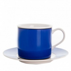 Taza y plato de té Cairo Azul Thun Bohemia