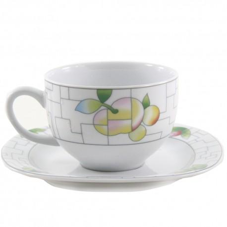 Taza y plato de café León Puzzle