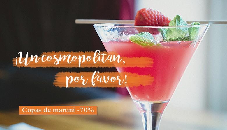 descuento copas de martini outlet